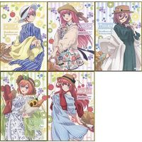 (Full Set) Postcard - Gotoubun no Hanayome (The Quintessential Quintuplets)