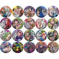 (Full Set) Badge - Jojo Part 5: Vento Aureo