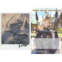 Postcard - Illustrarion card - GRANBLUE FANTASY / Anre