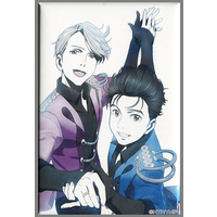 Trading Badge - Yuri!!! on Ice / Yuuri & Victor