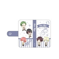Smartphone Wallet Case for All Models - Star-Myu (High School Star Musical) / Team Hiragi