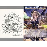 Postcard - Illustrarion card - GRANBLUE FANTASY / Jeanne d'Arc