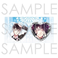 Heart Badge - DIABOLIK LOVERS / Mukami Ruki