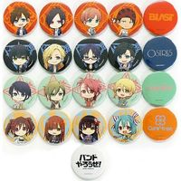 (Full Set) Badge - Band Yarouze! (Banyaro!)