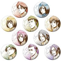 (Full Set) Trading Badge - Shingeki no Kyojin