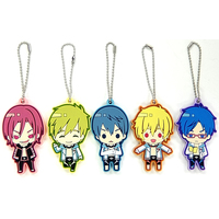 (Full Set) Rubber Key Chain - Free!