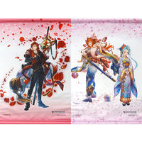 (Full Set) Tapestry - GRANBLUE FANTASY / Lecia & Lyria & Percival