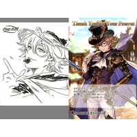 Postcard - Illustrarion card - GRANBLUE FANTASY / Chat Noir