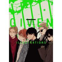 Illustration book - Given / Satou Mafuyu