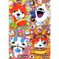 Plastic Folder - Youkai Watch / Whisper & Koma-san & Jibanyan