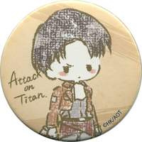 Trading Badge - GraffArt - Shingeki no Kyojin / Levi