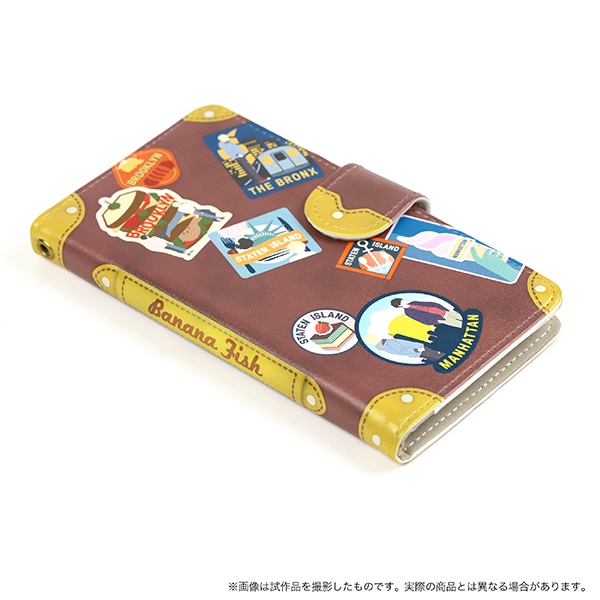 Smartphone Wallet Case for All Models - BANANA FISH / Ash Lynx & Okumura Eiji