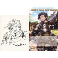 Postcard - Illustrarion card - GRANBLUE FANTASY / Rackam