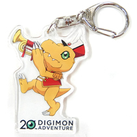Acrylic Key Chain - Digimon Adventure / Agumon
