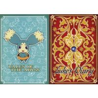 Mini Notebook - Tales of the Abyss / Mieu & Luke
