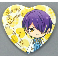 Heart Badge - Marukaku Badge - Ensemble Stars! / Sengoku Shinobu