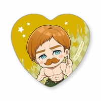 Heart Badge - The Seven Deadly Sins