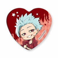 Heart Badge - The Seven Deadly Sins / Ban