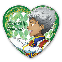 Heart Badge - King of Prism by Pretty Rhythm / Nishina Kaduki