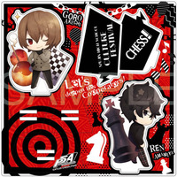 Memo Stand - Acrylic stand - Persona5 / Protagonist & Akechi