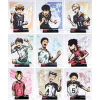 (Full Set) Acrylic stand - Haikyuu!!