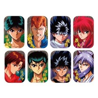 (Full Set) Marukaku Badge - YuYu Hakusho