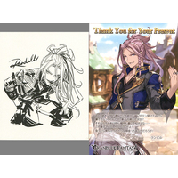 Illustrarion card - GRANBLUE FANTASY / Randall