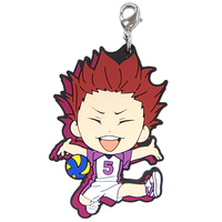 Rubber Charm - Kyun-Chara Illustrations - Haikyuu!! / Tendou Satori