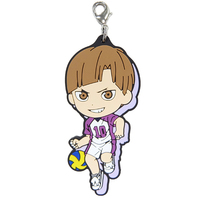 Rubber Charm - Kyun-Chara Illustrations - Haikyuu!! / Shirabu Kenjirou