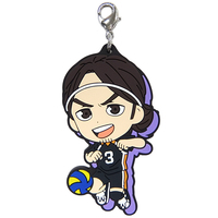 Rubber Charm - Kyun-Chara Illustrations - Haikyuu!! / Asahi & Karasuno High School