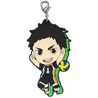 Rubber Charm - Kyun-Chara Illustrations - Haikyuu!! / Sawamura & Karasuno High School