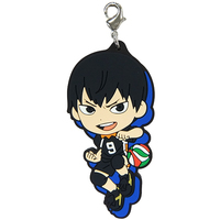 Rubber Charm - Kyun-Chara Illustrations - Haikyuu!! / Kageyama & Karasuno High School