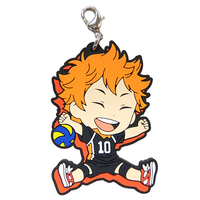 Rubber Charm - Kyun-Chara Illustrations - Haikyuu!! / Hinata & Karasuno High School