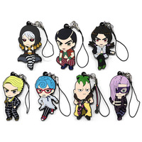 (Full Set) Rubber Strap - Jojo no Kimyou na Bouken