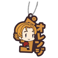 Rubber Key Chain - GIRLS-und-PANZER / Orange Pekoe