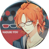 Trading Badge - Tsukiuta / Haduki You