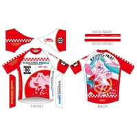 Cycling Jersey - VOCALOID / Miku & Anzu & Racing Miku Size-XL