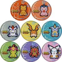 (Full Set) Trading Badge - Digimon Adventure