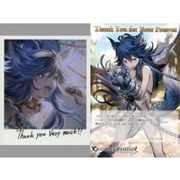 Postcard - Illustrarion card - GRANBLUE FANTASY / Fenrir