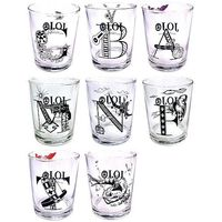 (Full Set) Tumbler, Glass - Jojo no Kimyou na Bouken