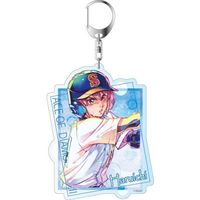 Big Key Chain - PALE TONE series - Ace of Diamond / Kominato Haruichi