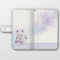 Smartphone Wallet Case for All Models - Re:ZERO / Emilia