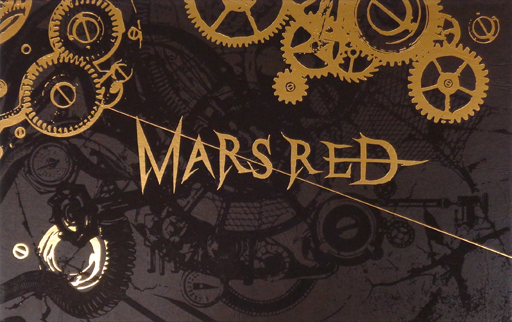Booklet - Illustrarion card (パンフレット SUPER SOUND THE ATER MARS RED 再演)