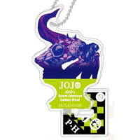 Acrylic Key Chain - Jojo no Kimyou na Bouken / Purple Haze