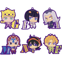 (Full Set) Rubber Strap - Bag Charm - Jojo no Kimyou na Bouken