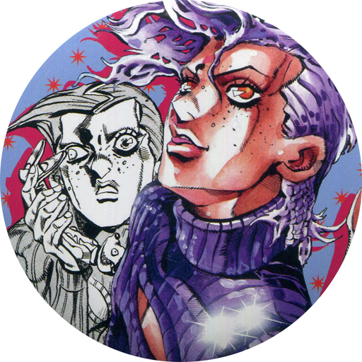 Badge - Jojo Part 5: Vento Aureo / Vinegar Doppio