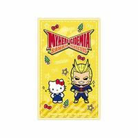 Card Stickers - Sanrio / All Might