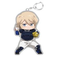 Acrylic Key Chain - Ace of Diamond / Okumura Koushuu