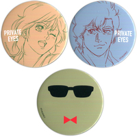 Badge - City Hunter / Saeba Ryou & Makimura Kaori