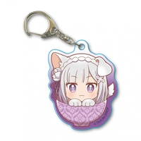 Acrylic Key Chain - Re:ZERO / Emilia